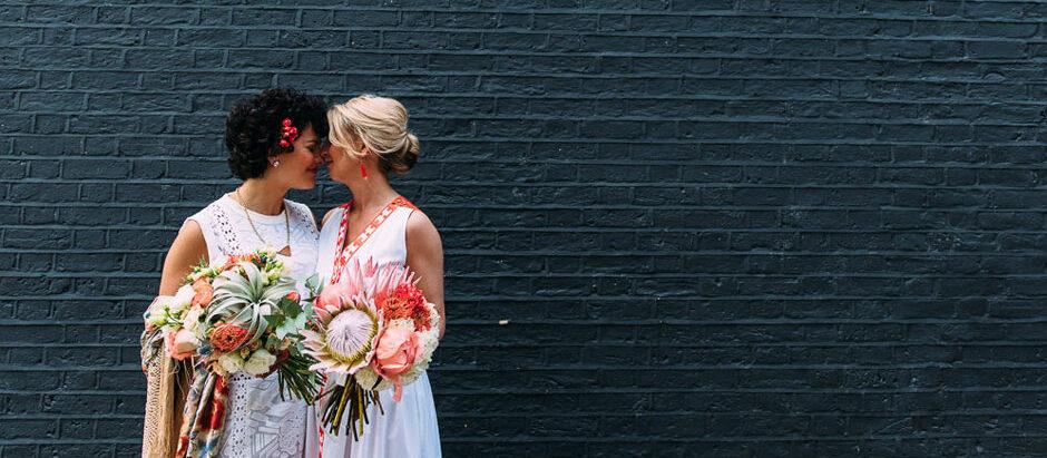 Modern Bridal Bouquets
